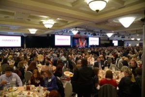 A room full of Riley Children's Foundation friends at the 2015 luncheon