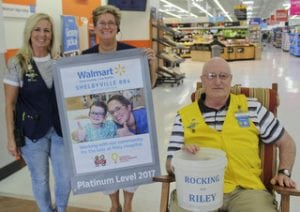 Shelbyville Walmart Goes Above and Beyond for Riley Kids