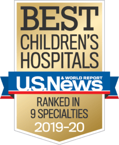 Visit US News & World Report's article about best children's hospital rankings and see how well Riley ranked this year.